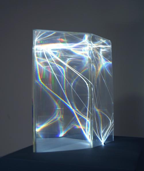 CARLO BERNARDINI LIGHT CATALYST 2002 Model Plexiglass And Optical Fibers 15 Mm Of Diameter Feet